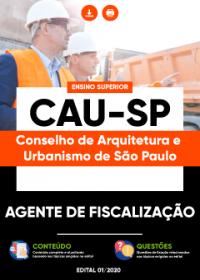 Agente de Fiscalização - CAU-SP