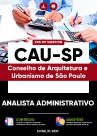 Analista Administrativo - CAU-SP