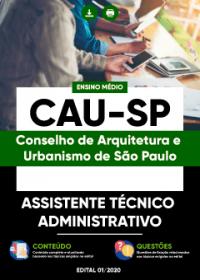 Assistente Técnico Administrativo - CAU-SP
