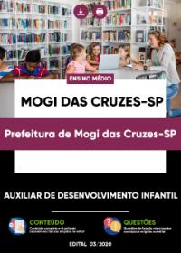 Auxiliar de Desenvolvimento Infantil - Prefeitura de Mogi das Cruzes-SP