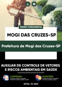 Auxiliar de Controle de Vetores e Riscos - Prefeitura de Mogi das Cruzes-SP