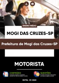 Motorista - Prefeitura de Mogi das Cruzes-SP