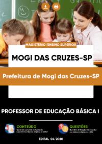 Professor de Educação Básica I - Prefeitura de Mogi das Cruzes-SP