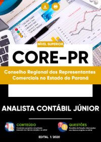 Analista Contábil Júnior - CORE-PR