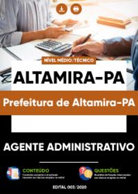 Agente Administrativo - Prefeitura de Altamira-PA