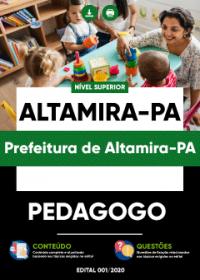 Pedagogo - Prefeitura de Altamira-PA