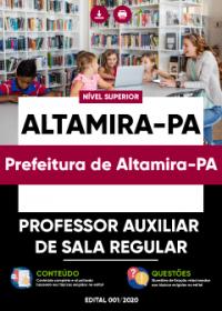 Professor Auxiliar de Sala Regular - Prefeitura de Altamira-PA