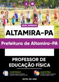 Professor de Educação Física - Prefeitura de Altamira-PA