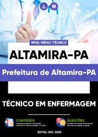 Técnico em Enfermagem - Prefeitura de Altamira-PA