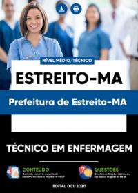 Técnico em Enfermagem - Pref. Estreito-MA