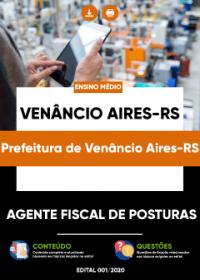 Agente Fiscal de Posturas - Prefeitura de Venâncio Aires-RS