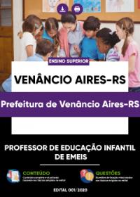 Professor de Educação Infantil de EMEIS - Prefeitura de Venâncio Aires-RS