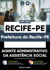 Agente Administrativo da Assistência Social - Prefeitura do Recife-PE
