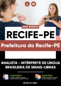 Analista - Intérprete de Sinais-Libras - Prefeitura do Recife-PE