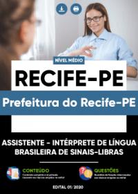 Assistente - Intérprete de Sinais - Libras - Prefeitura do Recife-PE
