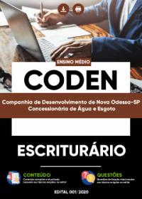 Escriturário - CODEN