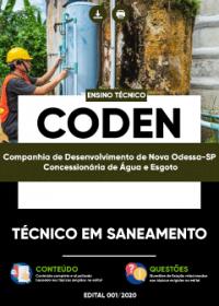 Técnico em Saneamento - CODEN