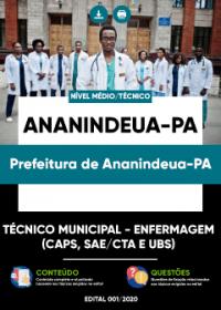Técnico Municipal - Enfermagem - Prefeitura de Ananindeua-PA