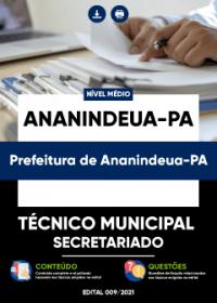 Técnico Municipal - Secretariado (UBS) - Prefeitura de Ananindeua-PA