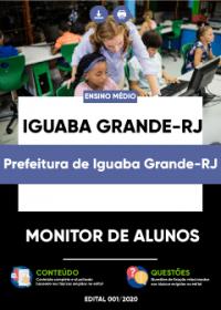 Monitor de Alunos - Prefeitura de Iguaba Grande-RJ
