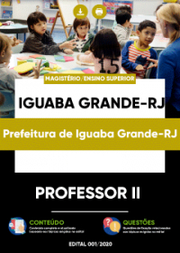 Professor II - Prefeitura de Iguaba Grande-RJ