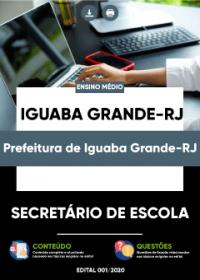 Secretário de Escola - Prefeitura de Iguaba Grande-RJ