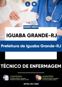 Técnico de Enfermagem - Prefeitura de Iguaba Grande-RJ