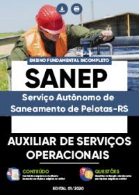 Auxiliar de Serviços Operacionais - SANEP