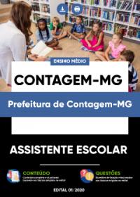 Assistente Escolar - Prefeitura de Contagem-MG