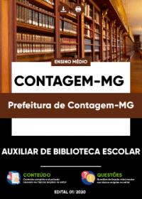 Auxiliar de Biblioteca Escolar - Prefeitura de Contagem-MG
