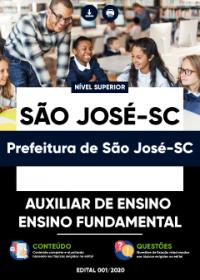 Auxiliar de Ensino - Ensino Fundamental - Prefeitura de São José-SC