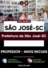Professor - Anos Iniciais - Prefeitura de São José-SC