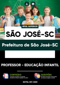 Professor - Educação Infantil - Prefeitura de São José-SC