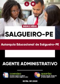Agente Administrativo - Autarquia Educacional de Salgueiro-PE
