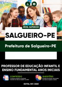 Professor de Educação Infantil e Ensino Fundamental - Prefeitura de Salgueiro-PE