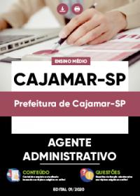 Agente Administrativo - Prefeitura de Cajamar-SP