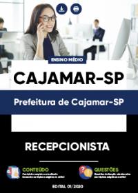 Recepcionista - Prefeitura de Cajamar-SP