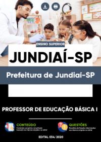 Professor de Educação Básica I - Prefeitura de Jundiaí-SP