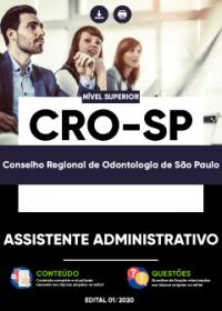 Assistente Administrativo - CRO-SP