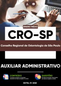 Auxiliar Administrativo - CRO-SP