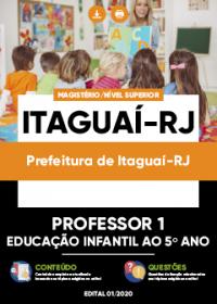 Professor 1 - Educação Infantil ao 5º Ano - Prefeitura de Itaguaí-RJ