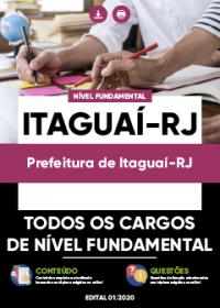 Todos os cargos de Nível Fundamental - Prefeitura de Itaguaí-RJ