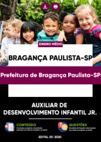 Auxiliar de Desenvolvimento Infantil Jr. - Pref. de Bragança Paulista-SP