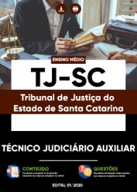 Técnico Judiciário Auxiliar - TJ-SC