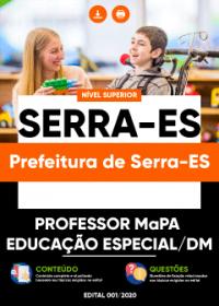 Professor MaPA - Educação Especial-DM - Prefeitura de Serra-ES
