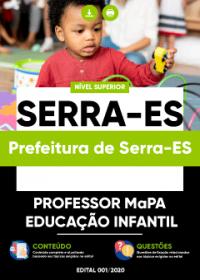 Professor MaPA - Educação Infantil - Prefeitura de Serra-ES