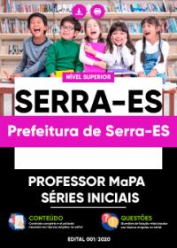 Professor MaPA - Séries Iniciais - Prefeitura de Serra-ES