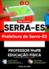 Professor MaPB - Educação Física - Prefeitura de Serra-ES