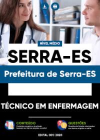 Técnico em Enfermagem - Prefeitura de Serra-ES