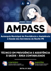 Técnico em Previdência e Assistência à Saúde - Área Contabilidade - AMPASS